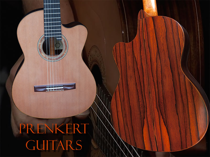 Photo of a Prenkert guitar